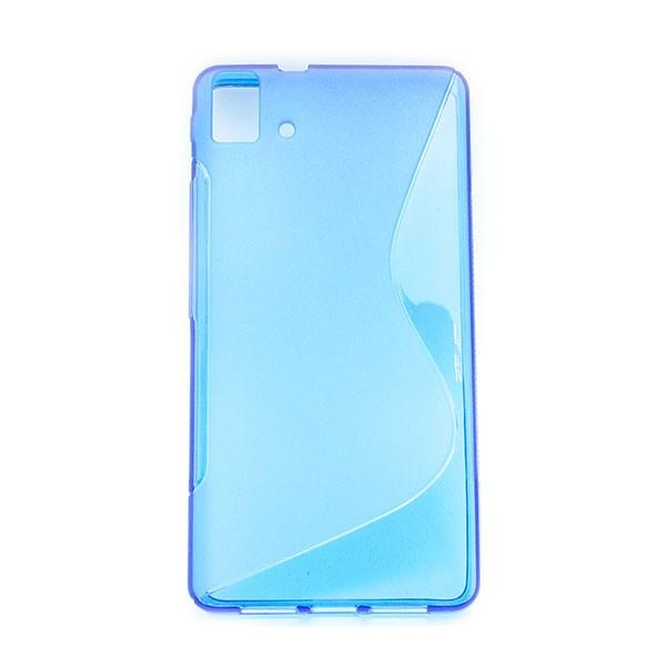 Funda Cover Trasera para BQ Aquaris E5 4G Azul