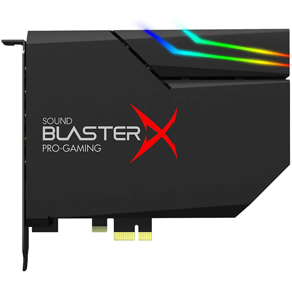 Tarjeta de sonido Creative Sound BlasterX AE-5 Plus