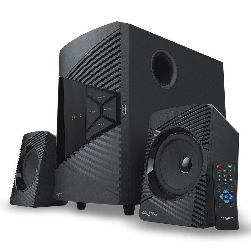 Altavoces 2.1 Creative SBS E2500 Negro