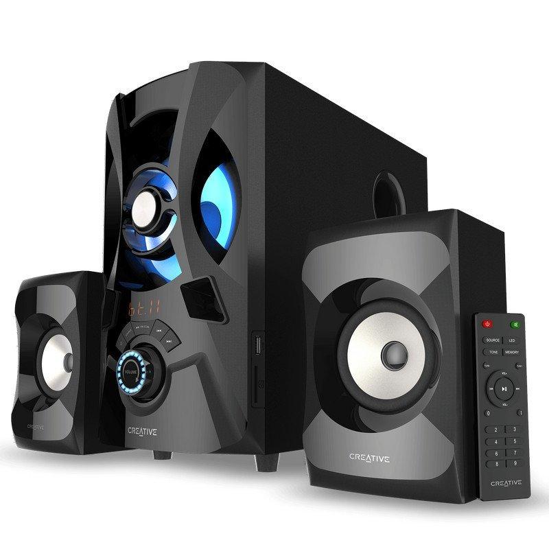 Altavoces 2.1 Creative SBS E2000 Negro