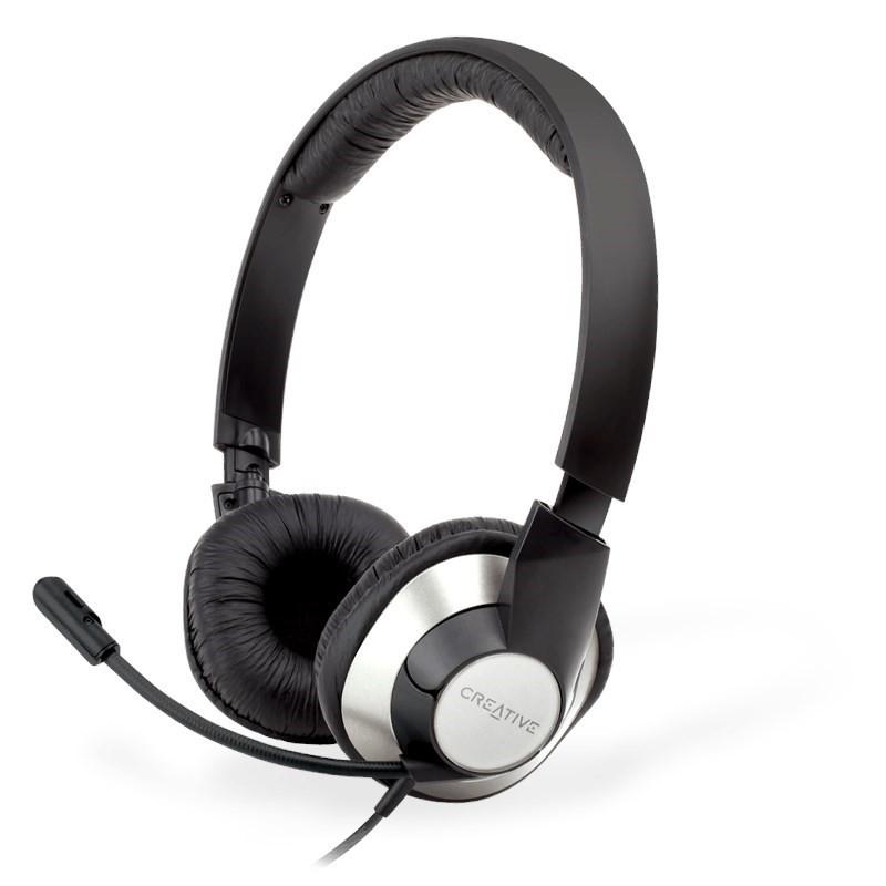Auriculares con Micrófono Creative HS-720 V2 Negro
