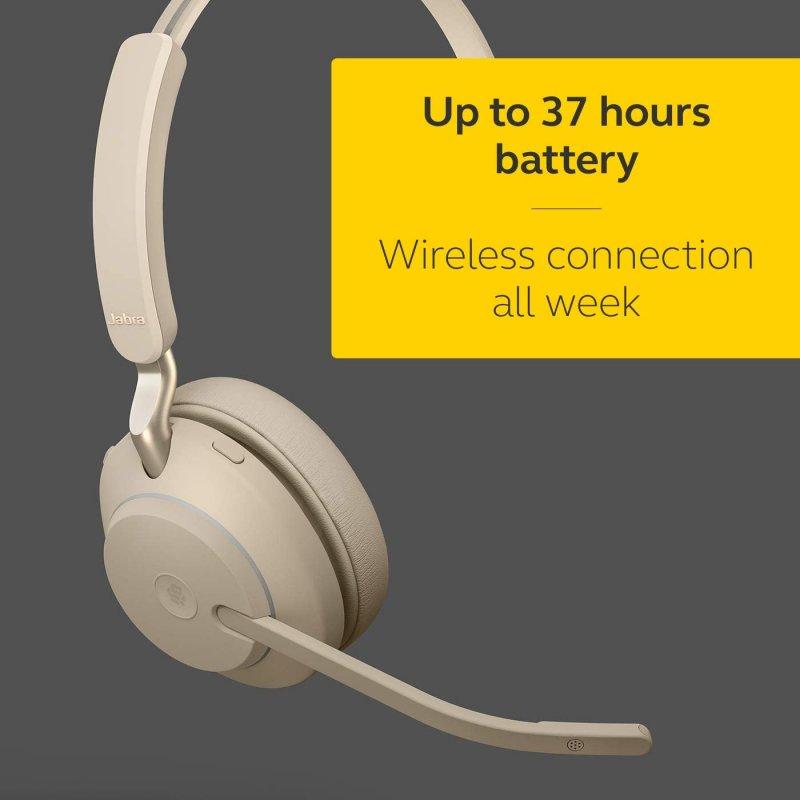 Auriculares Inalámbricos Jabra Evolve2 65 Bluetooth/USB-C