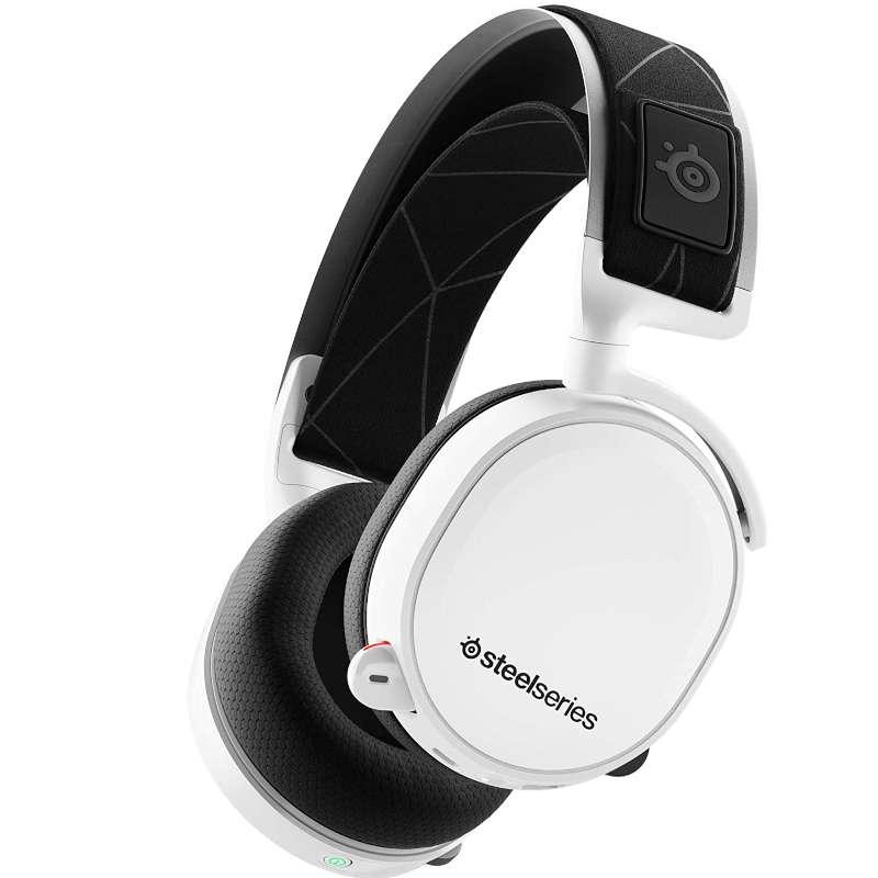 Auriculares Inalámbricos con Micrófono Steelseries Arctis 7 Blanco