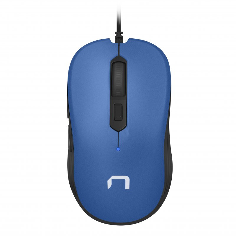 Ratón Óptico Natec Drake 3200DPI Azul