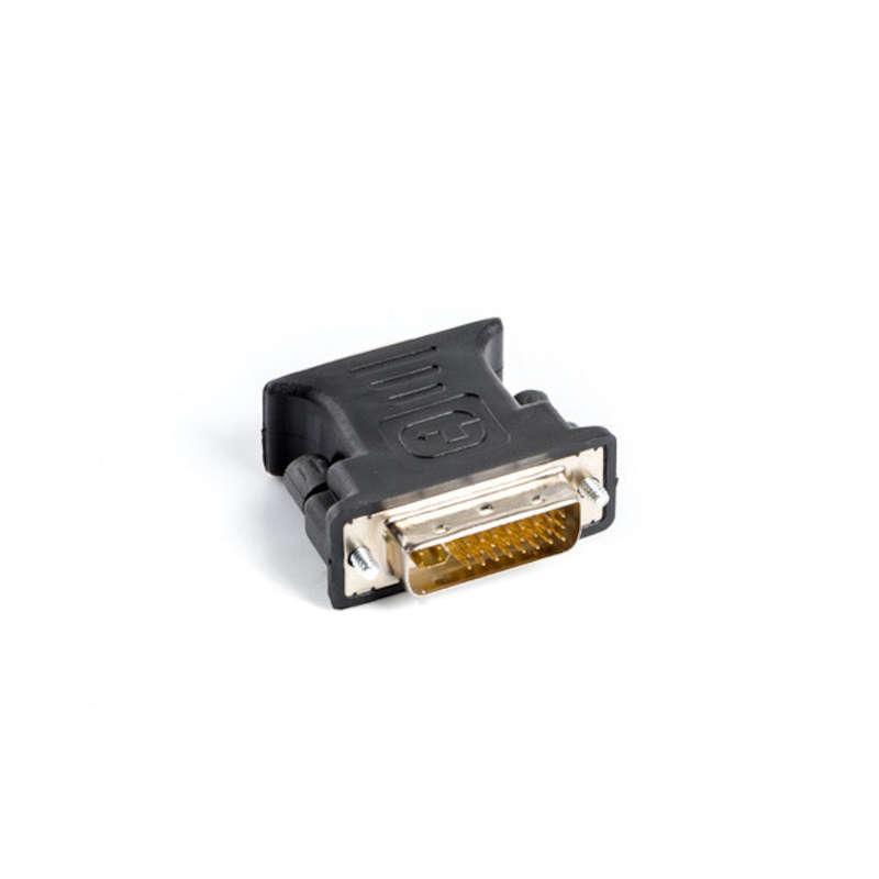 Adaptador DVI-I Macho 24+5 a VGA Hembra Lanberg