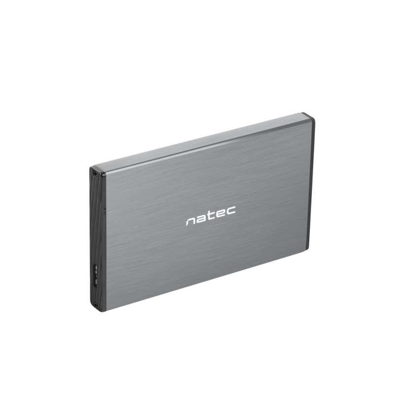 Caja Externa Natec Rhino Go USB 3.0 para HDD 2.5