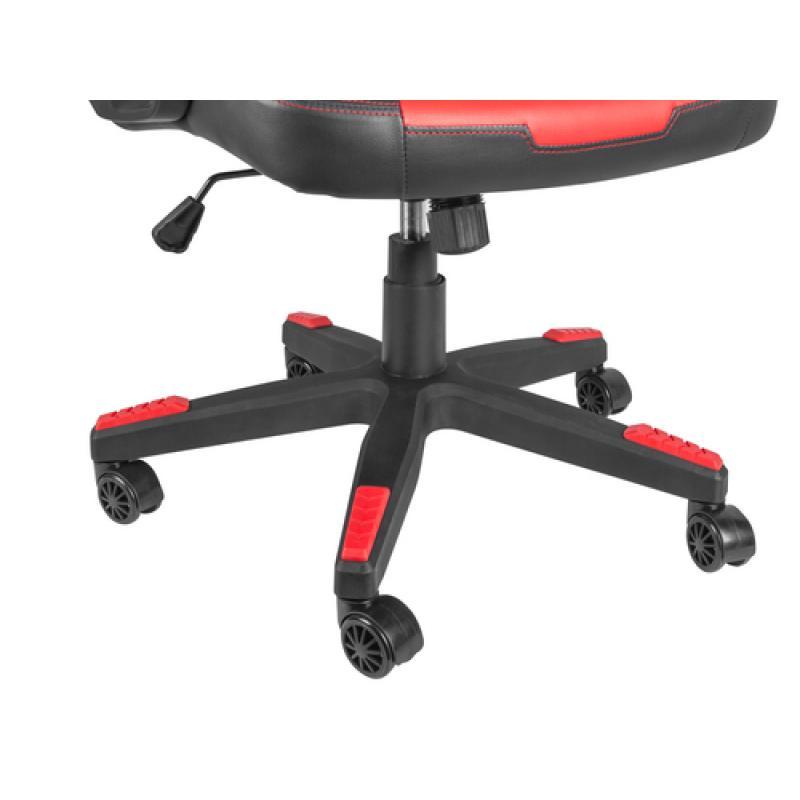 Silla Gaming Genesis Nitro 370 Negro/Rojo