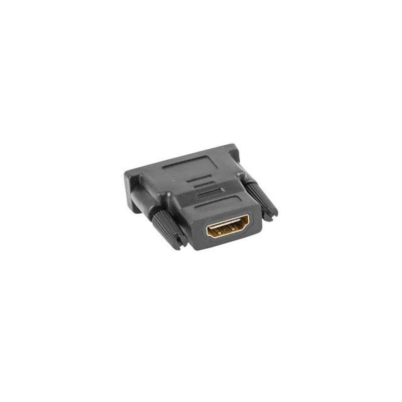 Adaptador DVI-D Macho 24+1 a HDMI Hembra Lanberg