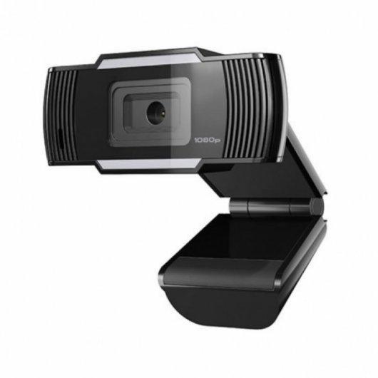 Webcam con Micrófono Natec Lori Plus FullHD 1080P