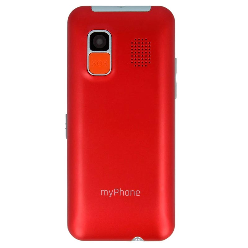 MyPhone Halo Easy Rojo