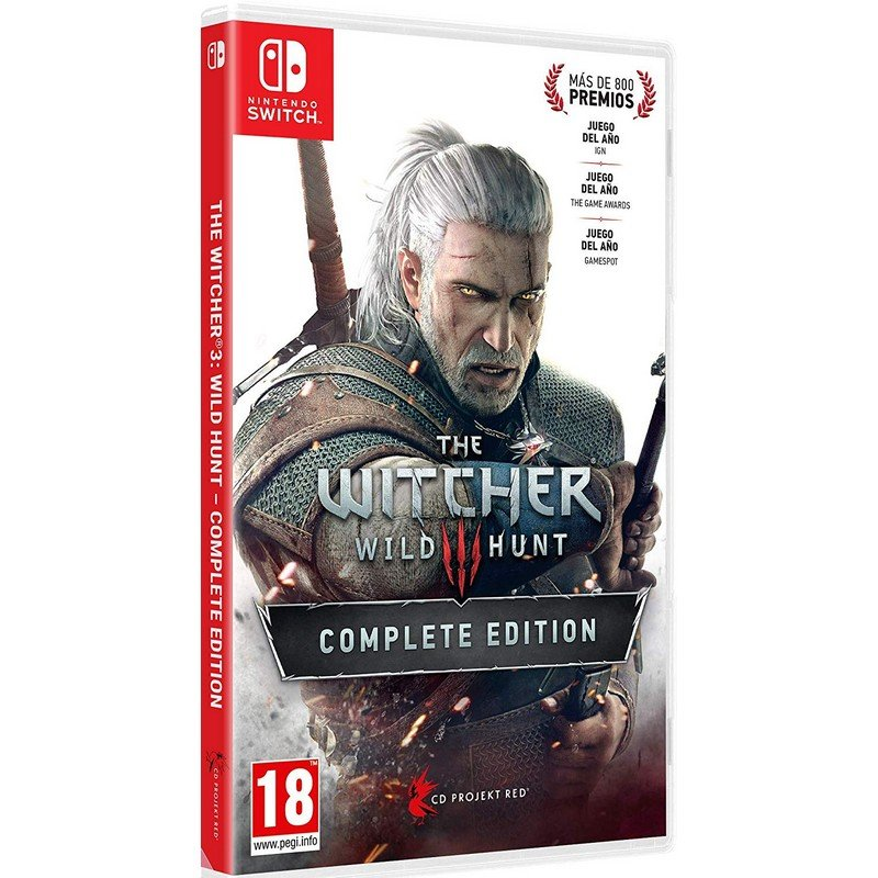 Nintendo Switch Juego The WItcher 3: Wild Hunt Complete Edition