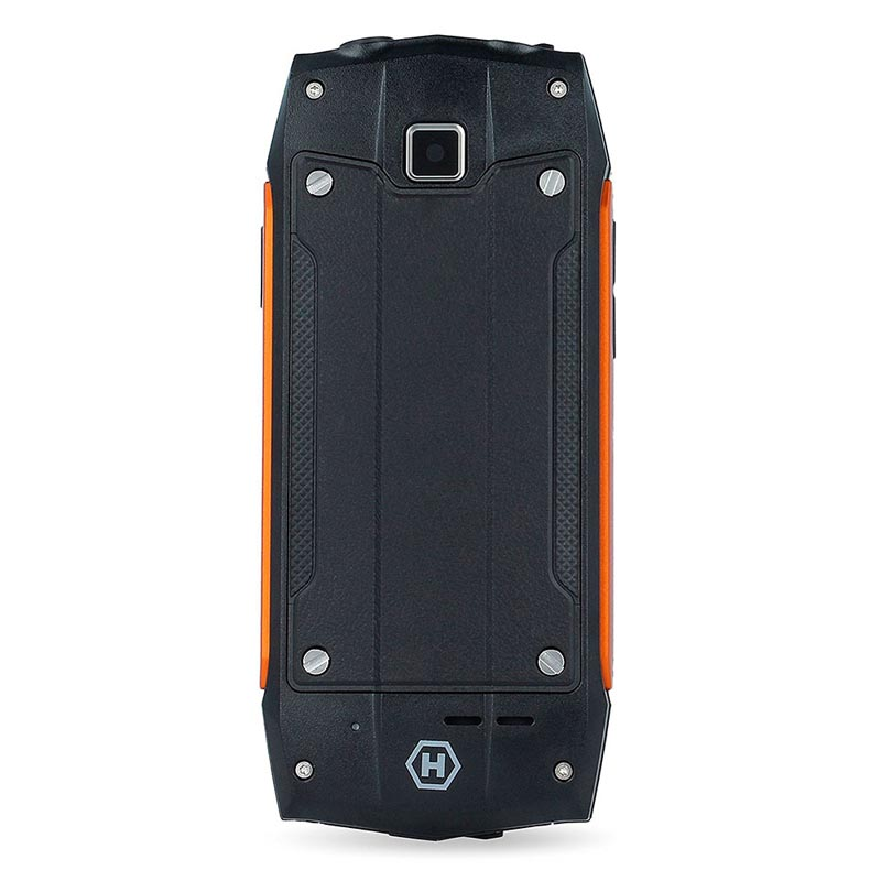 MyPhone Hammer 3 Negro - Naranja