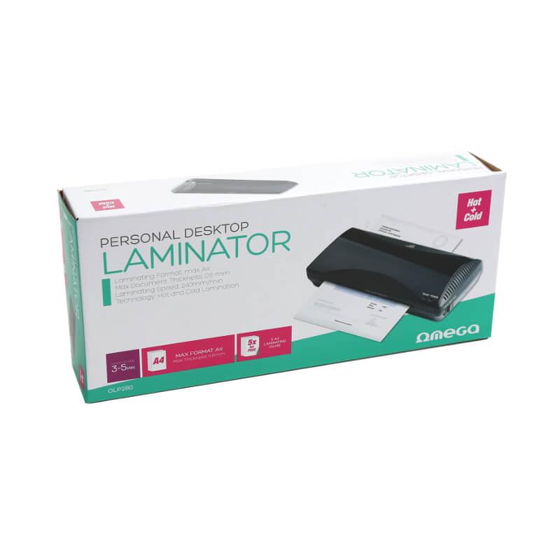 Plastificadora Laminadora A4 Omega OLP280