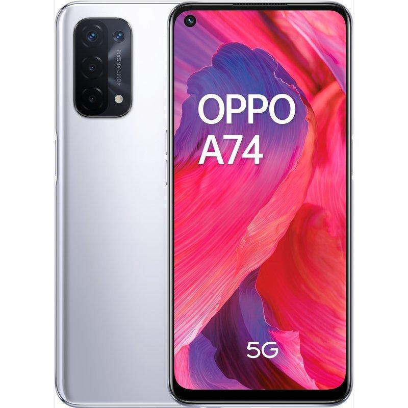 Oppo A74 5G 6GB 128GB Plata