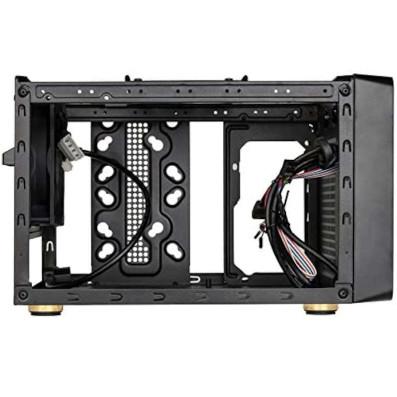 Caja PC Micro ATX/Mini ITX Kolink Satellite Negra