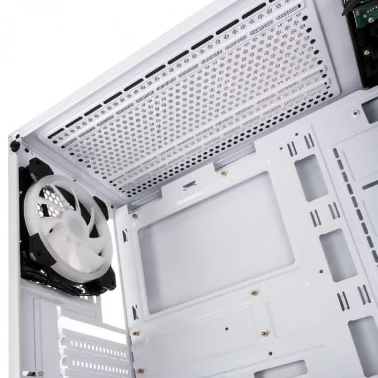 Caja PC Kolink Observatory RGB Cristal Templado Blanco