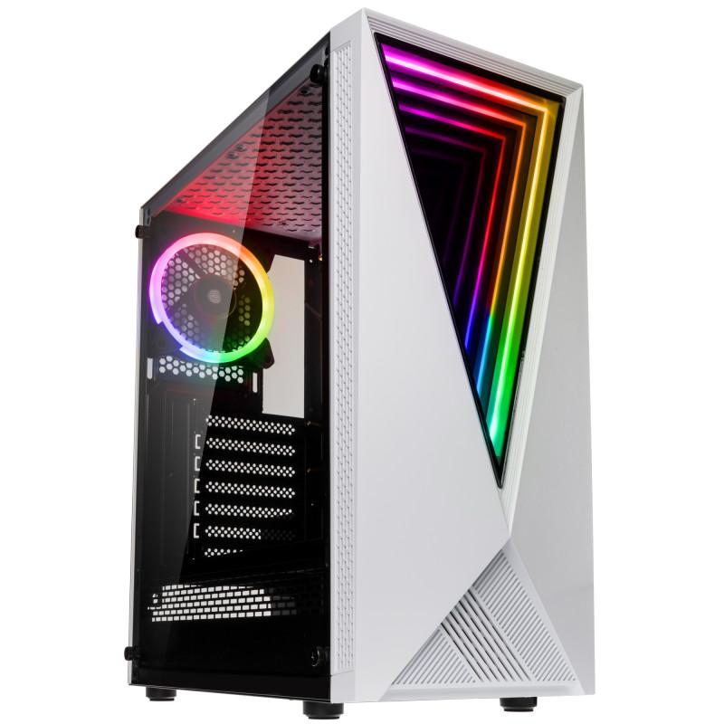 Caja PC Kolink Void RGB Blanco