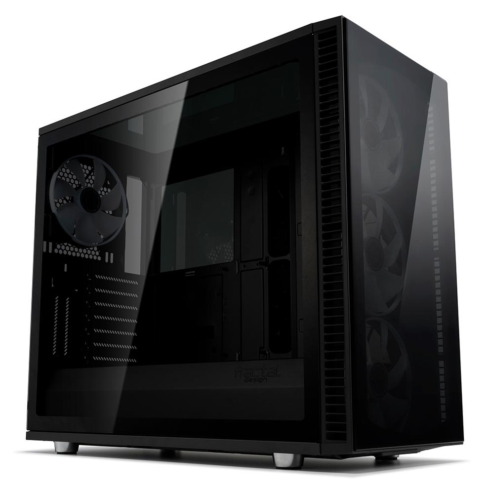 Caja PC E-ATX Fractal Design Define S2 VISION RGB BLACKOUT
