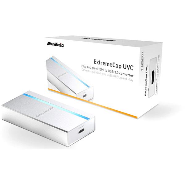 Capturadora de Vídeo AVerMedia ExtremeCap UVC BU110