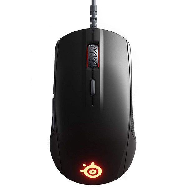 Ratón Óptico SteelSeries Rival 110 Negro Mate
