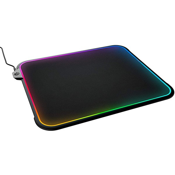 Alfombrilla SteelSeries QcK Prism RGB 320x270x9mm
