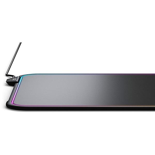 Alfombrilla SteelSeries QcK Prism RGB 320x270x9mm