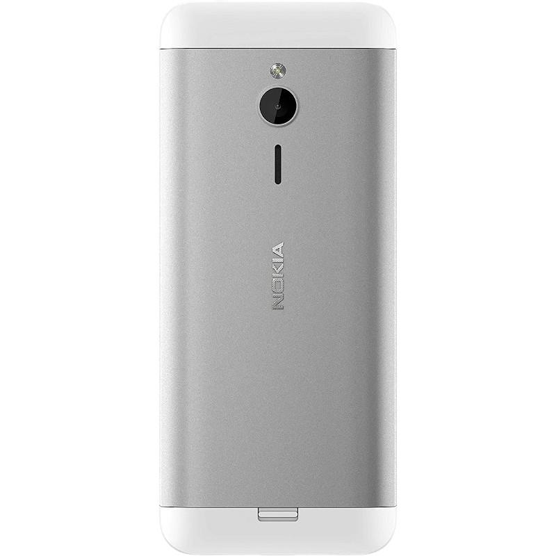 Nokia 230 Dual SIM Plata Blanco