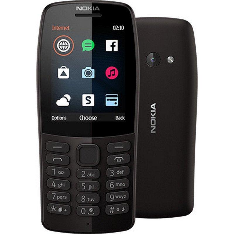 Teléfono Móvil Nokia 210 Negro