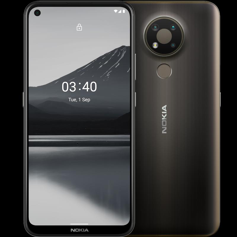 Nokia 3.4 4GB 64GB Gris Carbón