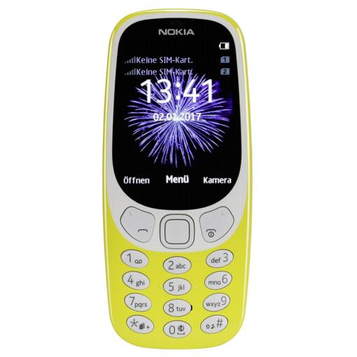 Nokia 3310 Dual SIM P- 6,1 amarillo