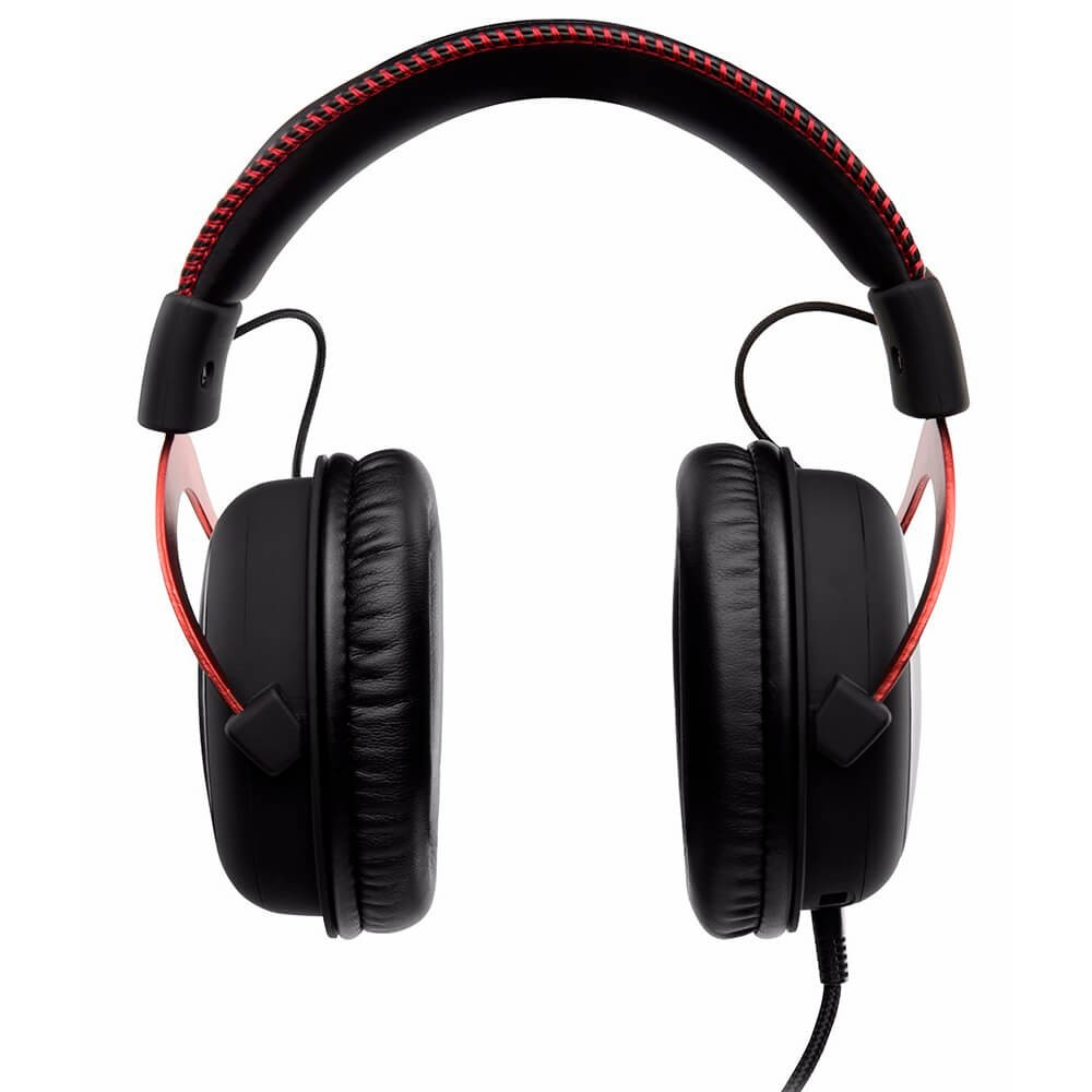 Auriculares con Micrófono Kingston HyperX Cloud Alpha Rojo