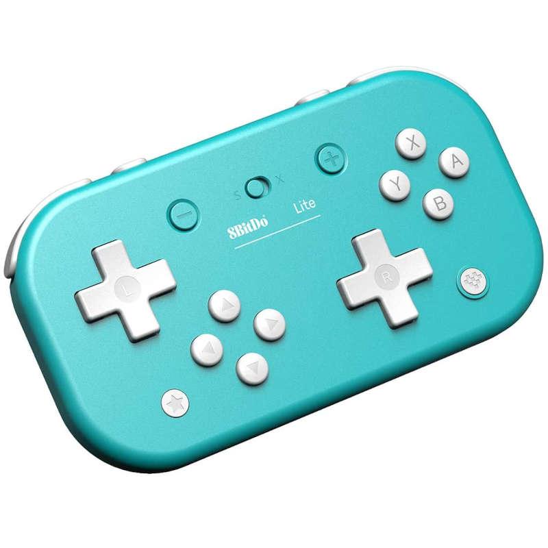 Mando Nintendo Switch 8Bitido Lite Azul
