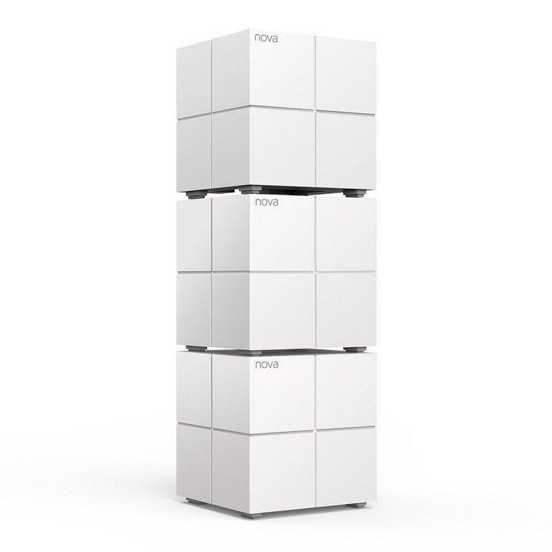 Sistema WiFi Mesh Dual Band Gigabit Tenda Nova MW6 - Pack 3 Unidades