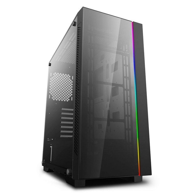 Caja PC DeepCool Matrexx 55 V3 ADD-RGB EATX Cristal Templado USB 3.0 ARGB Negra