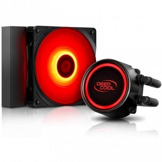 Refrigeración Líquida Deepcool Gammaxx L120T Red