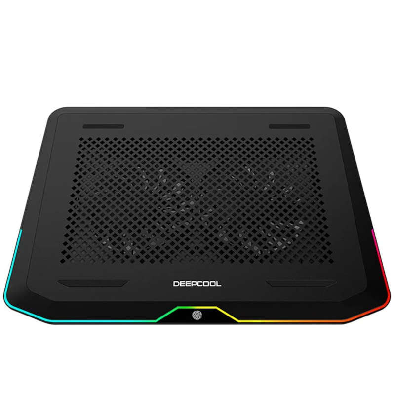 Base Refrigeradora para Portátil DeepCool N80 RGB Negro