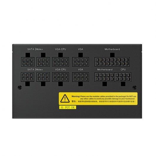Fuente Alimentación DeepCool DQ650-M-V2L 650W 80 Plus Gold Modular Negro