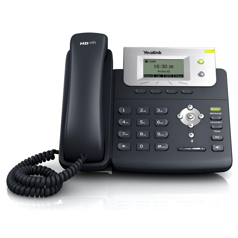 Teléfono Yealink T21PSE2 IP