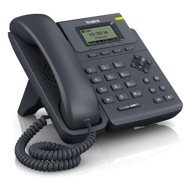 Teléfono VoIP de 5 Líneas Yealink SIP-T19 E2 Negro