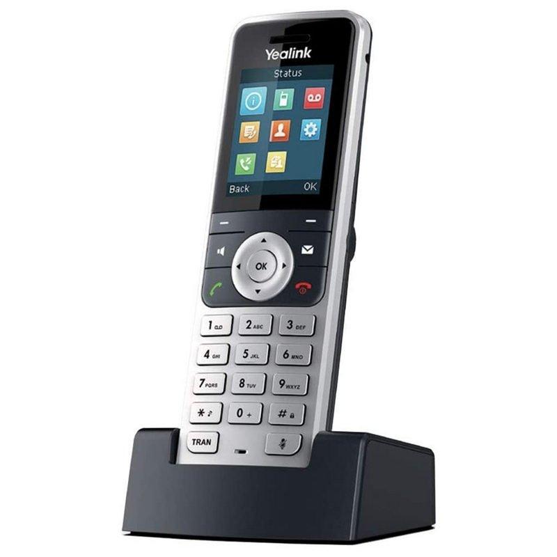 Teléfono DECT Yealink W53H Plata