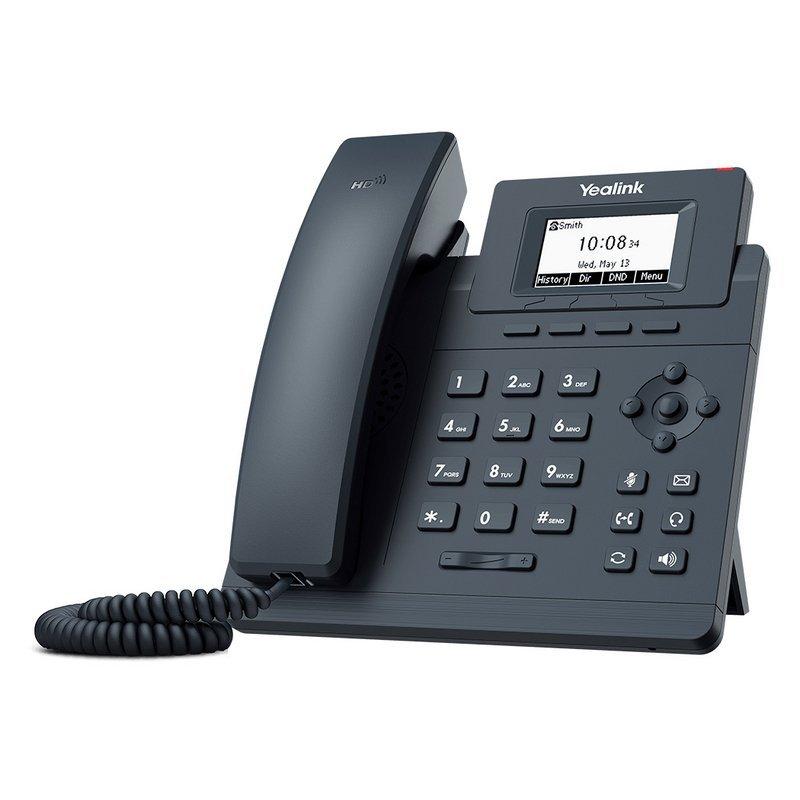 Teléfono VoIP Yealink SIP-T30 Negro