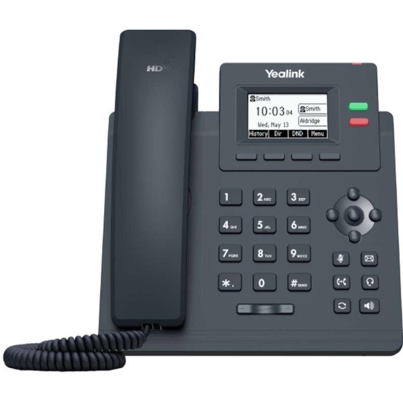Teléfono VoIP Yealink SIP-T31 Negro