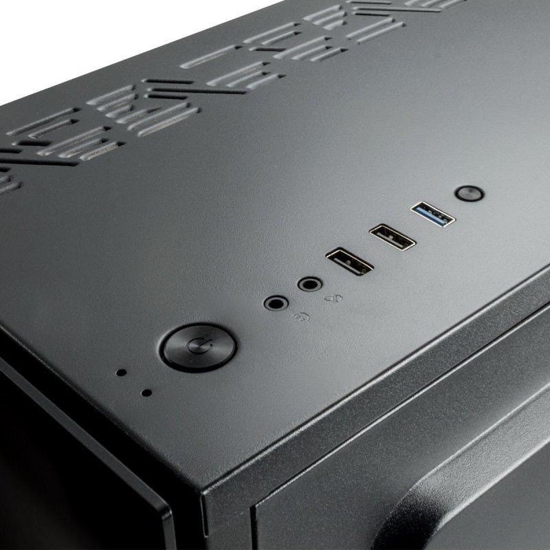 Caja PC UNYKAch Armor EVO ATX  Cristal Templado USB 3.0 RGB Negra