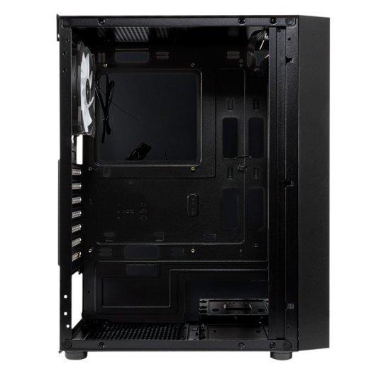 Caja PC UNYKAch Glayze ATX RGB Cristal Templado USB 3.0 Negra