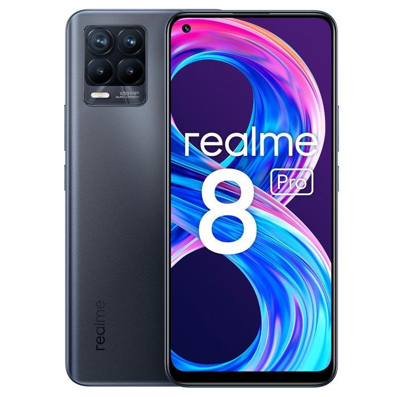 Realme 8 Pro 8GB 128GB Negro Infinito