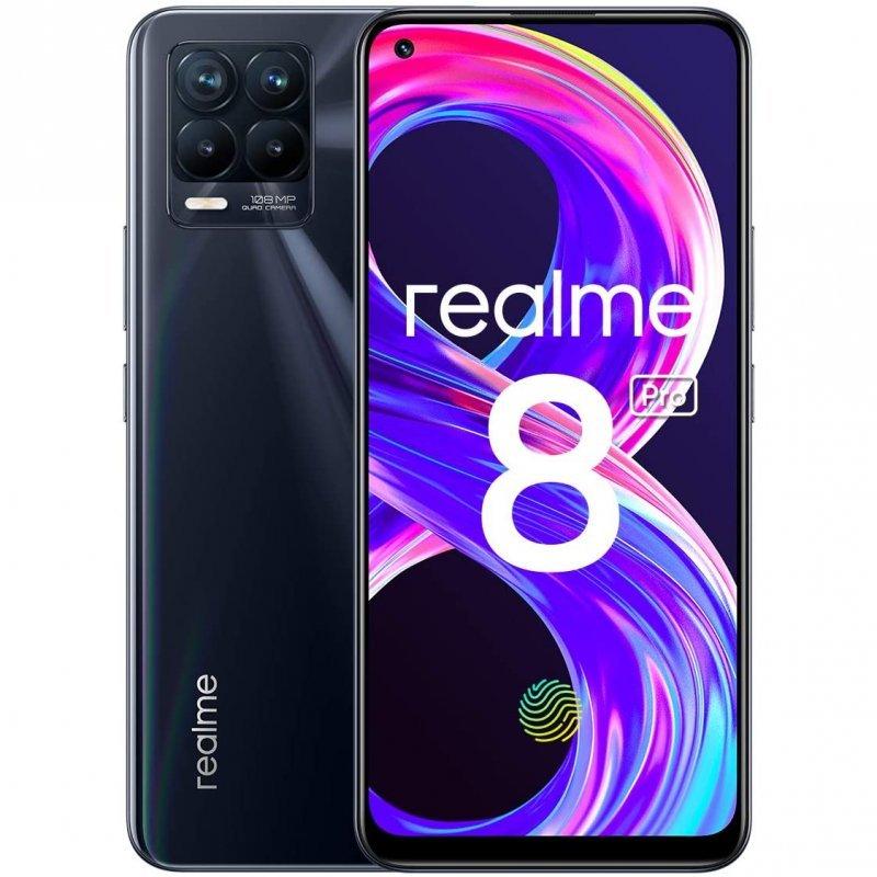 Realme 8 Pro 8GB 128GB Negro Punk