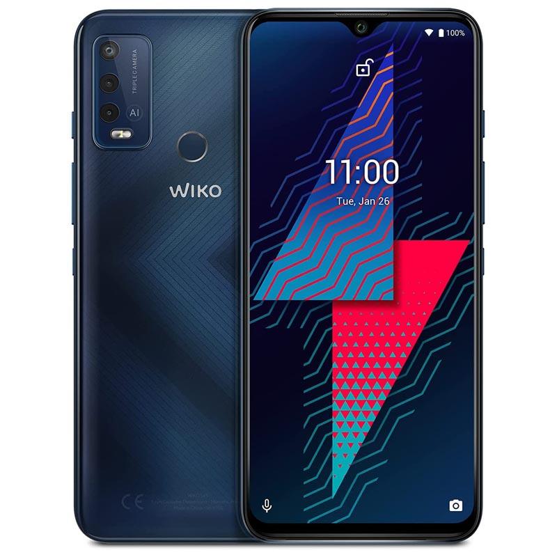 Smartphone Wiko Power U30 4GB 64GB Azul Carbono