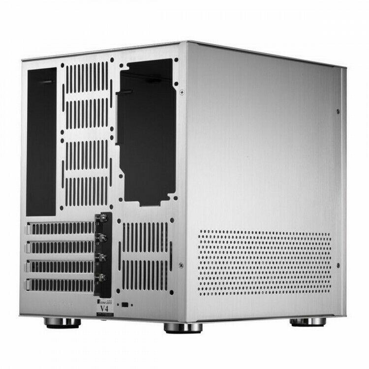 Caja Micro-ATX Jonsbo V4 Cube Plata mATX
