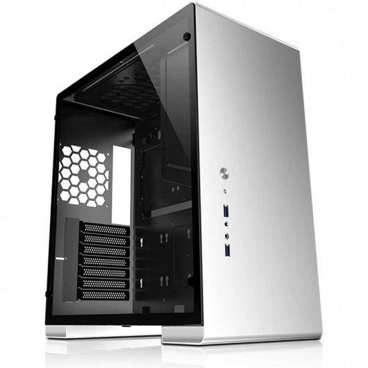 Caja PC Jonsbo U5 ATX Cristal Templado Plata