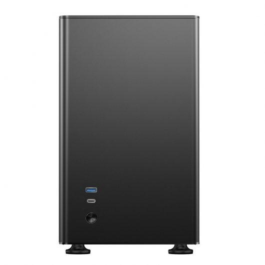 Caja PC Jonsbo A4 Mini-ITX Cristal Templado Negro